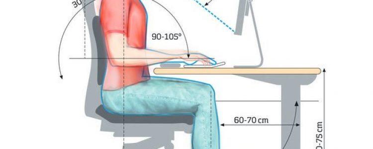 Jak siedzieć prawidłowo przy komputerze ?